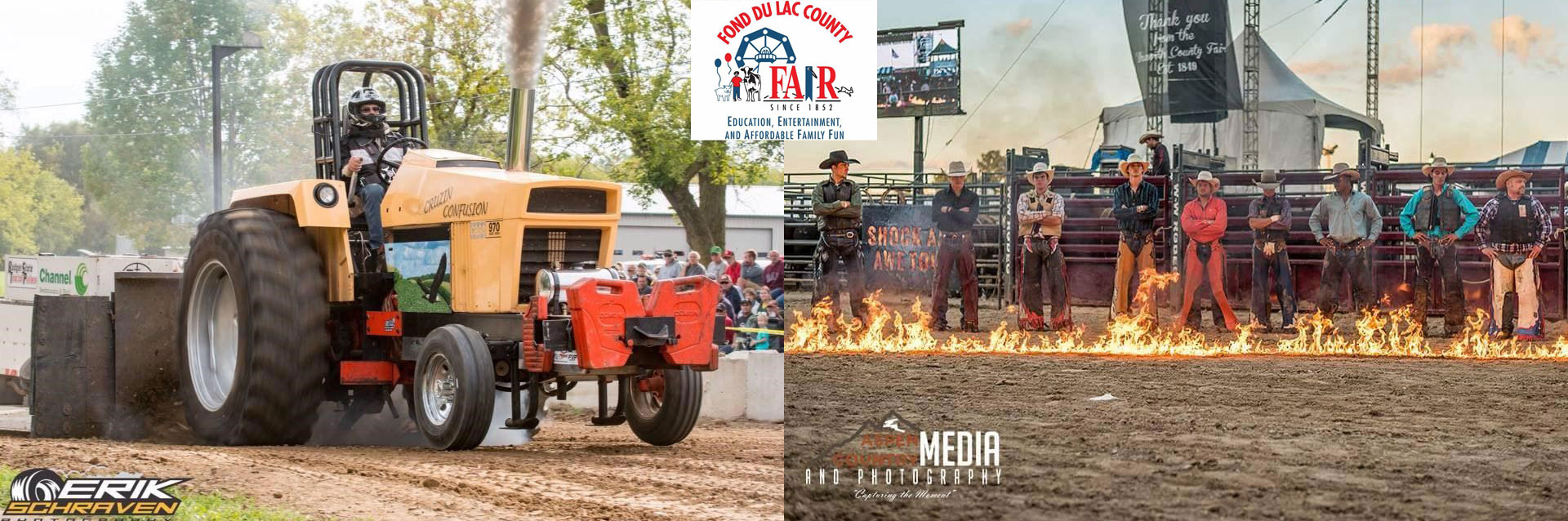 CONTEST: Fond du Lac County Fair Tractor & Truck Pull AND MORE!