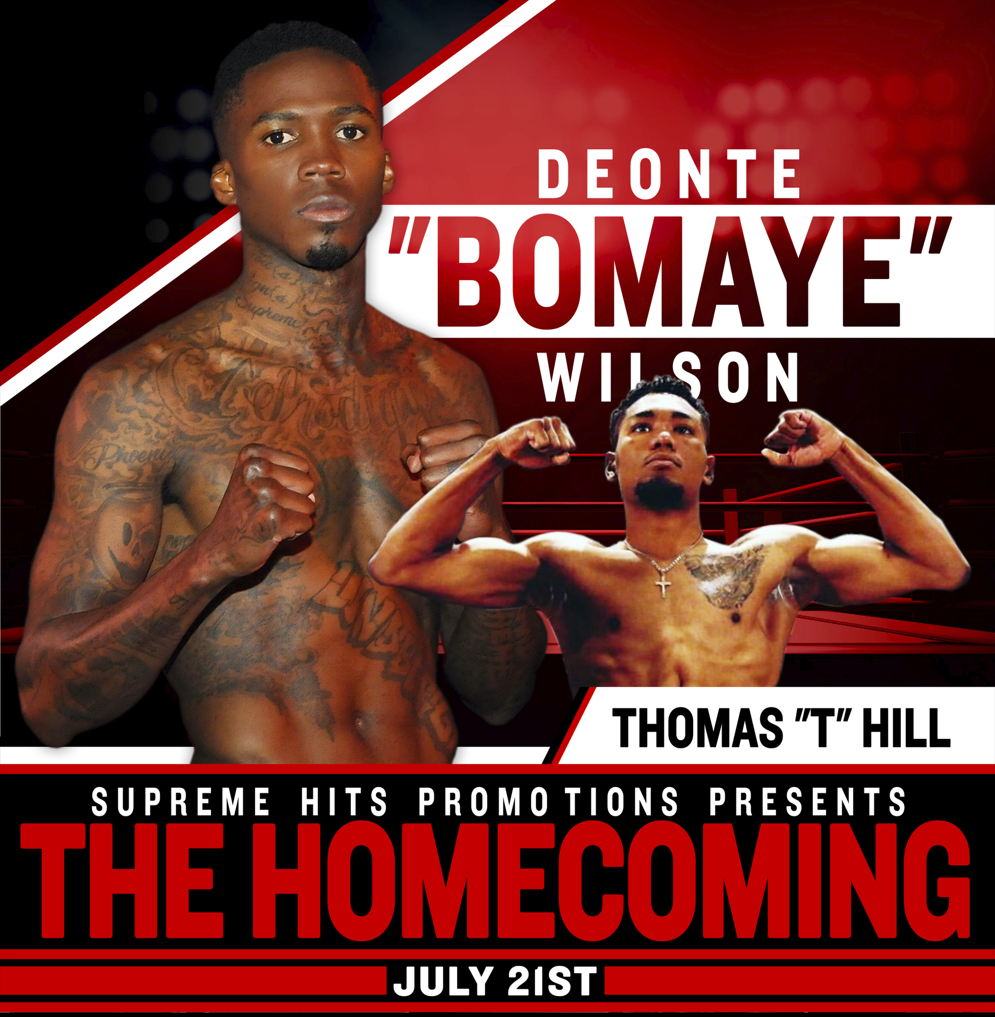 "CONTEST: ""The Homecoming"" Professional Boxing Event"