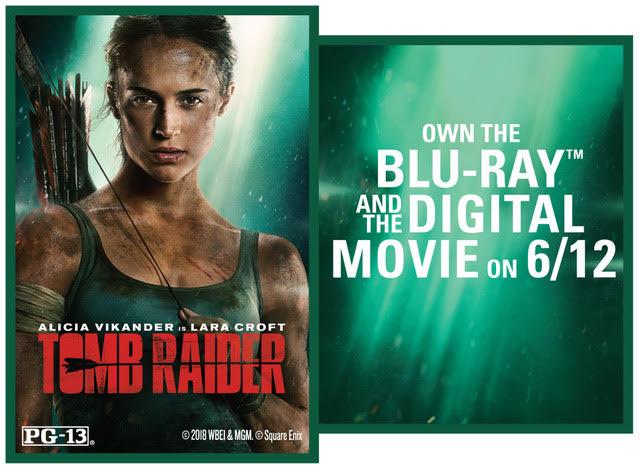 CONTEST: Tomb Raider Blu-Ray