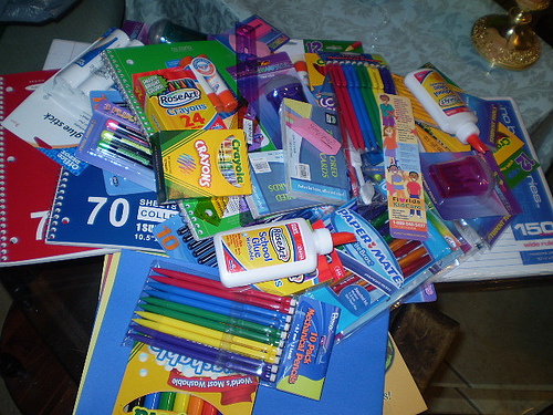 Restoring Faith in Humanity: With School Supply Donations