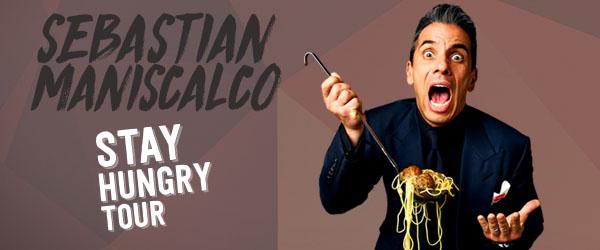 CONTEST: Win tickets to see comedian Sebastian Maniscalco!
