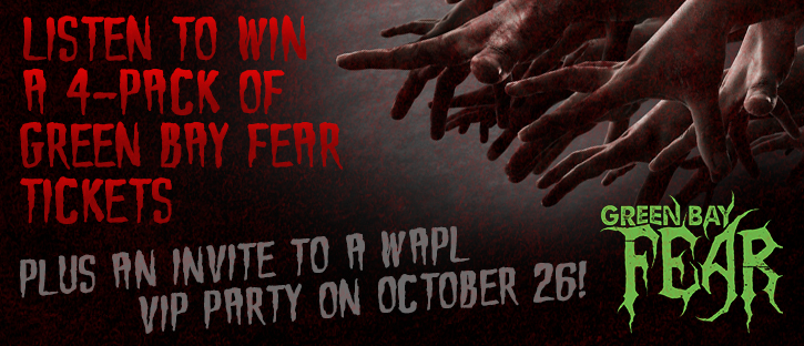 CONTEST: Green Bay Fear | VIP Party