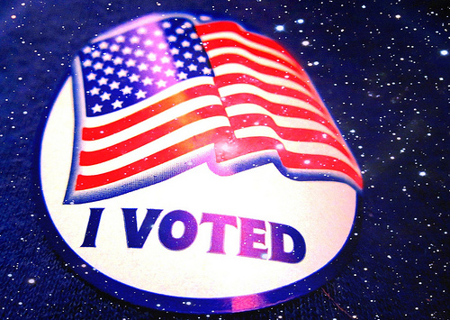 """Things to Do with Your """"I Voted"""" Sticker"""
