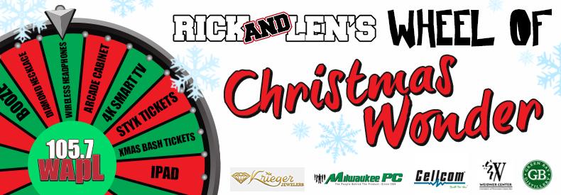 CONTEST: Rick & Len's Wheel of Xmas Wonder!