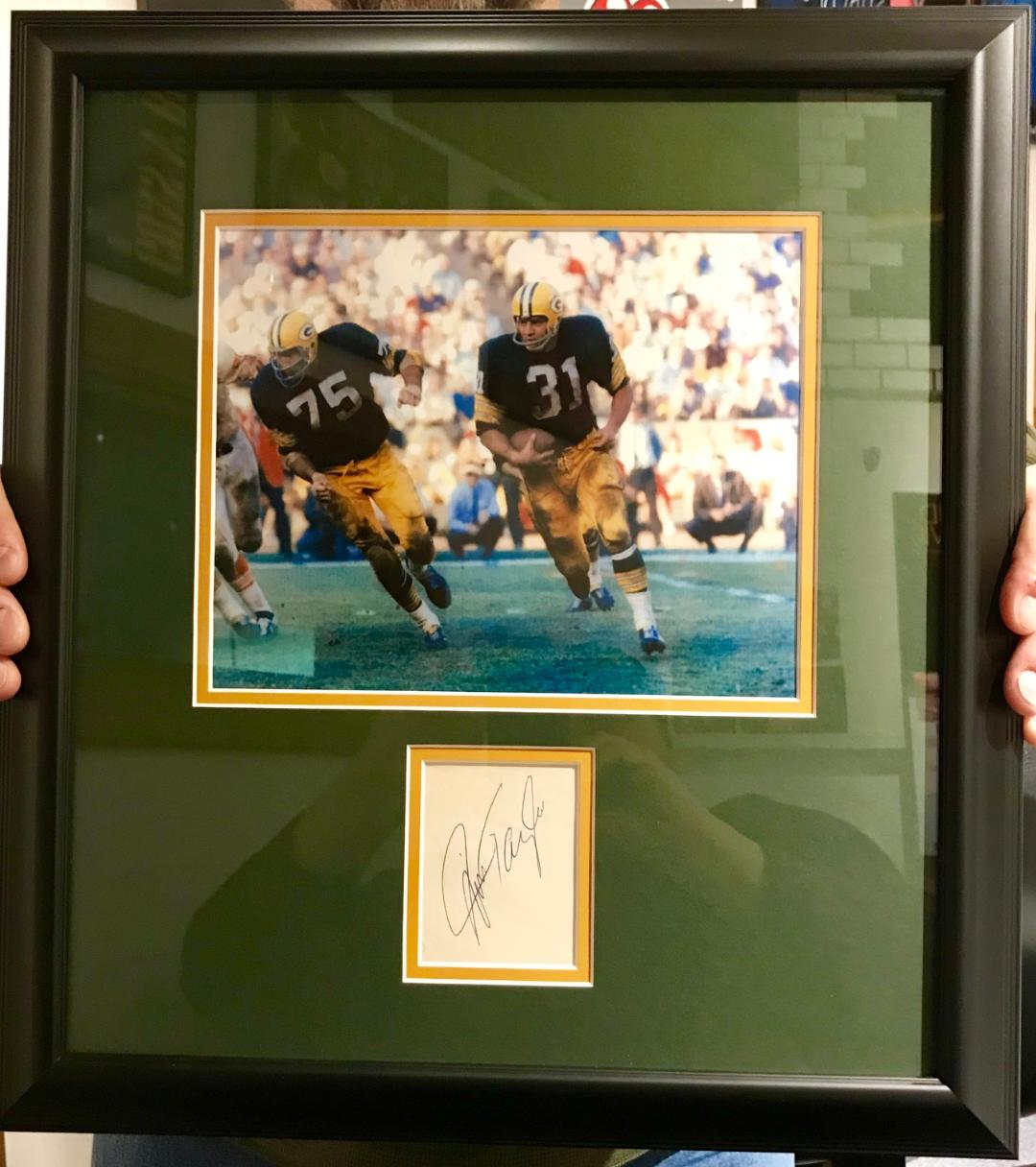 Help Children's Hospital with a Packer Memento Close to Rick McNeal's Heart