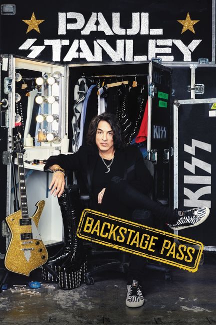 KISS Frontman Paul Stanley to Release 2nd Book 'Backstage Pass' On April 30th [PHOTO]