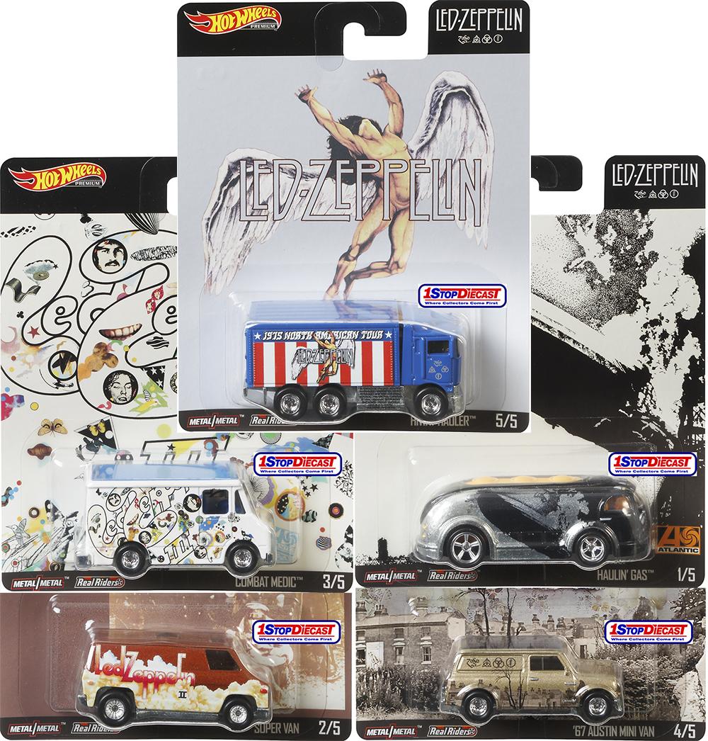 2019 Hot Wheels Led Zeppelin Haulin/' Gas and /'67 Austin Mini Van Set of 2 Cars
