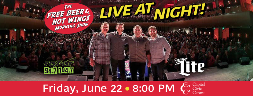 CONTEST: Free Beer & Hot Wings – Live at Night