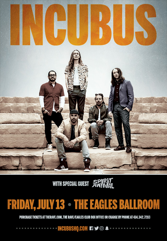 CONTEST: Incubus at The Rave