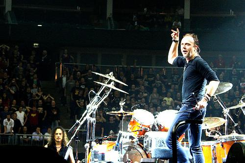 Metallica Use Spotify to Help Determine Setlists Per City