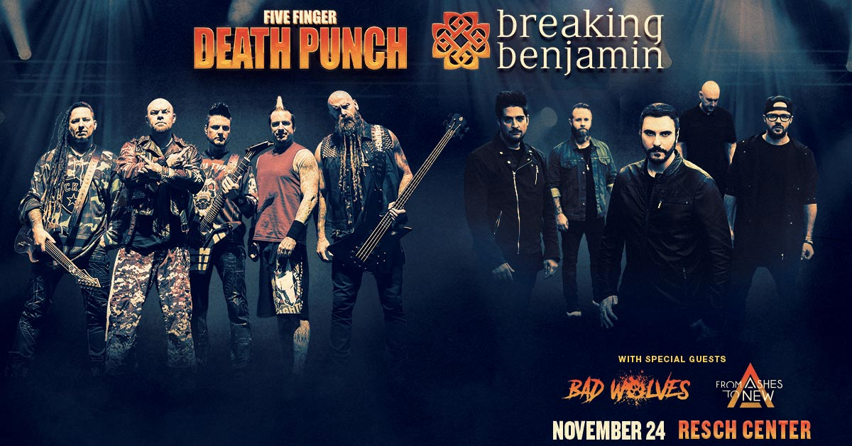 CONTEST: Five Finger Death Punch & Breaking Benjamin