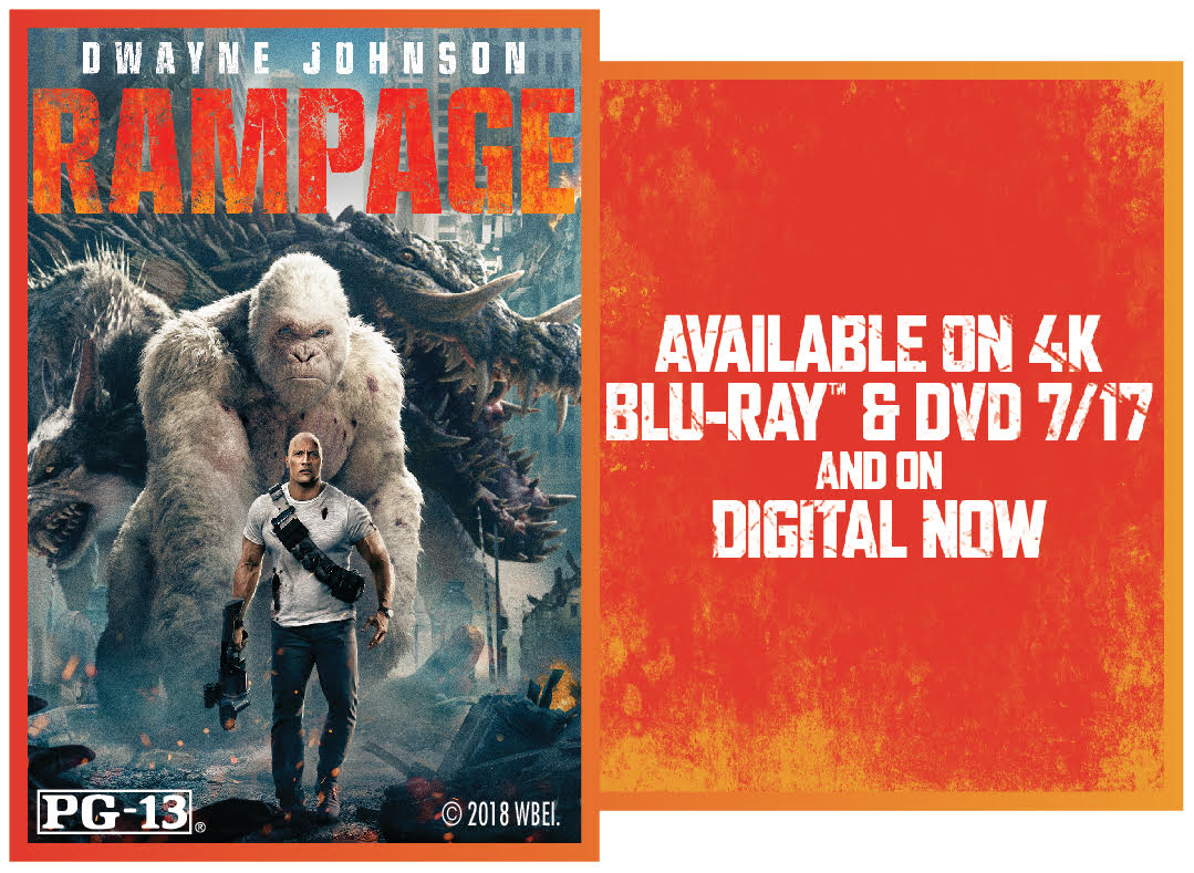 CONTEST: Rampage starring Dwayne Johnson