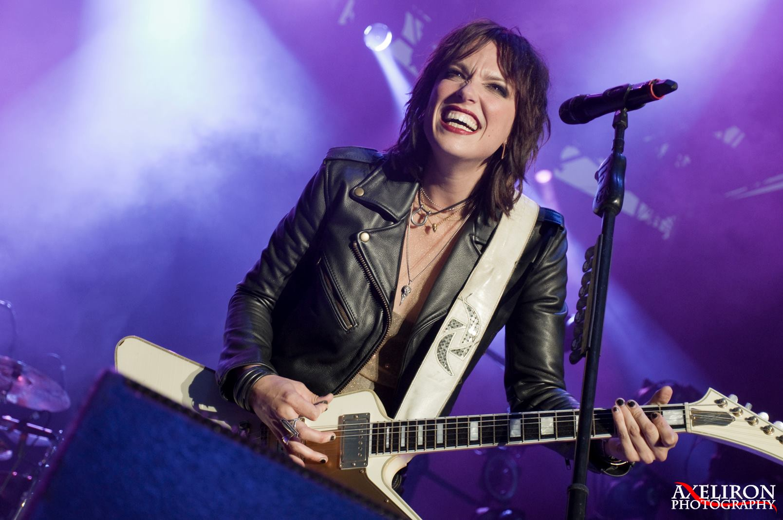 Lzzy Hale Is Seeing More Women At Halestorm Shows Since #MeToo