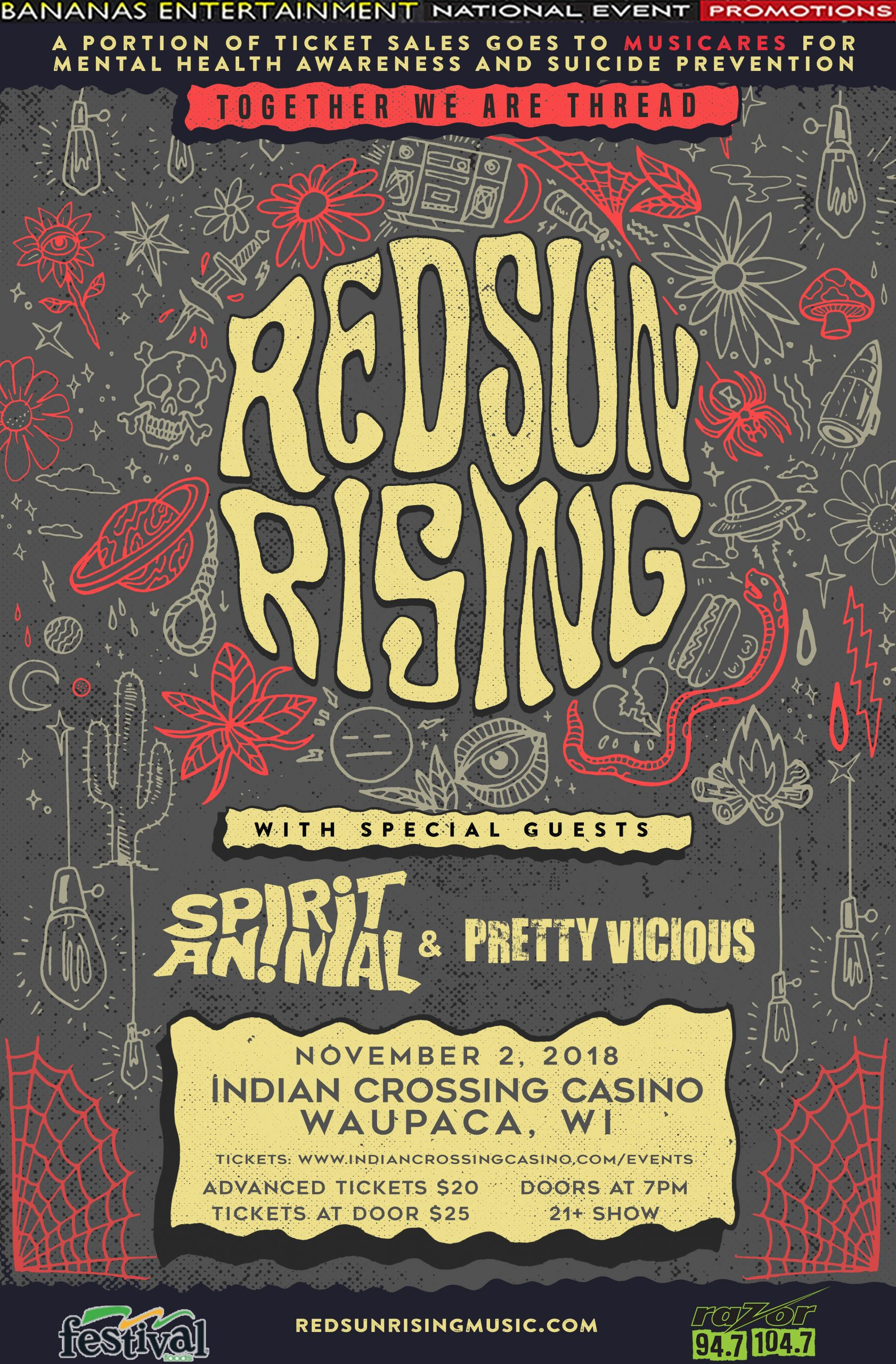 CONTEST: Red Sun Rising