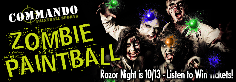 CONTEST: Razor 94.7 | 104.7 Zombie Shoot 2018