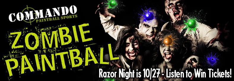 CONTEST: Razor 94.7 | 104.7 Zombie Shoot 2018 – Oct. 27