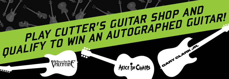 CONTEST: Win FREE beer + Qualify for an AUTOGRAPHED GUITAR