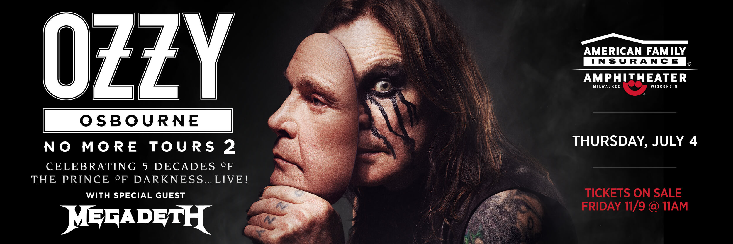 CONTEST: Ozzy and Megadeth | Summerfest 2019