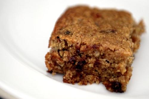 Date Nut  Chocolate Chip Cake