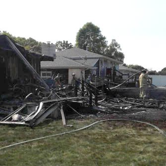 Garage fire in Kaukauna causes $95K in damage