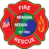 Dispatchers organize departments during Menasha fire