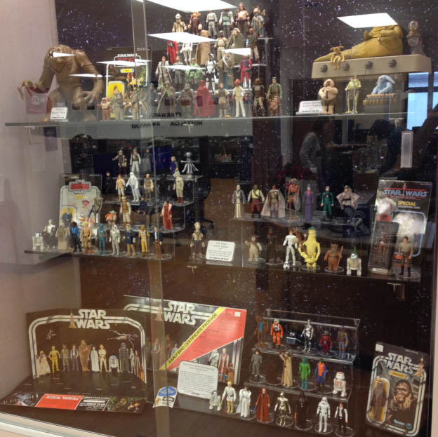 Star Wars Toys On Display In Little Chute 1 For All The Hits
