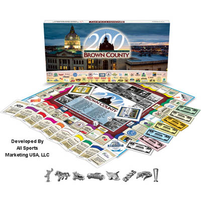 Monopoly-style game celebrates Brown Co. anniversary