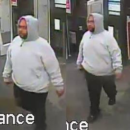 G.B. police seek robbery suspect