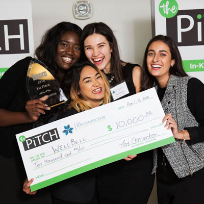 LU students win contest for entrepreneurs