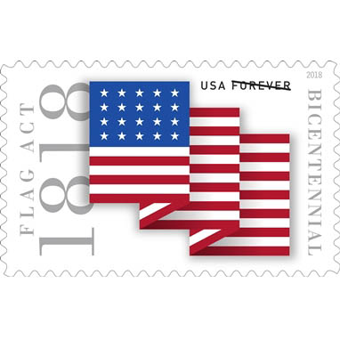 Postal Service to unveil stamp at Flag Day Parade