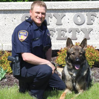 K-9 Lando joins Oshkosh police
