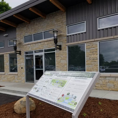 Microgrid runs new Bubolz Center building