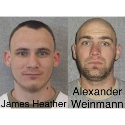 Two inmates escape in Oshkosh