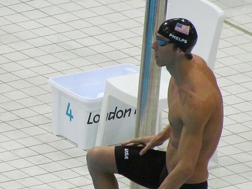 Michael Phelps attends U.S. Venture Open