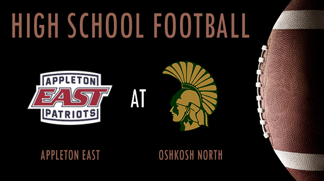 High School Football 08/24/18: Appleton East at Oshkosh North