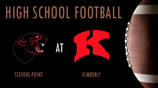 High School Football 08/31/18: Steven's Point at Kimberly