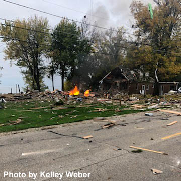 House explodes in Harrison