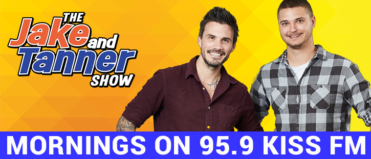 Feature: http://959kissfm.com/jake-and-tanner/