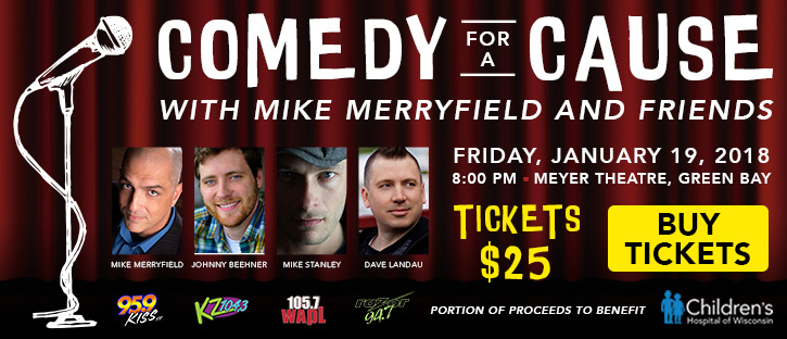 Win tickets to Comedy for a Cause with Mike Merryfield and Friends!
