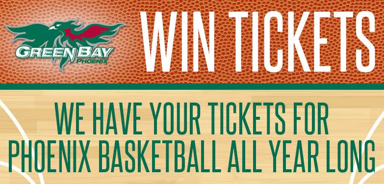 Win Green Bay Phoenix Basketball Tickets