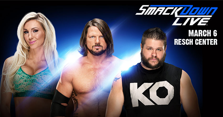 Win 5th through 1st row tickets to WWE Smackdown!