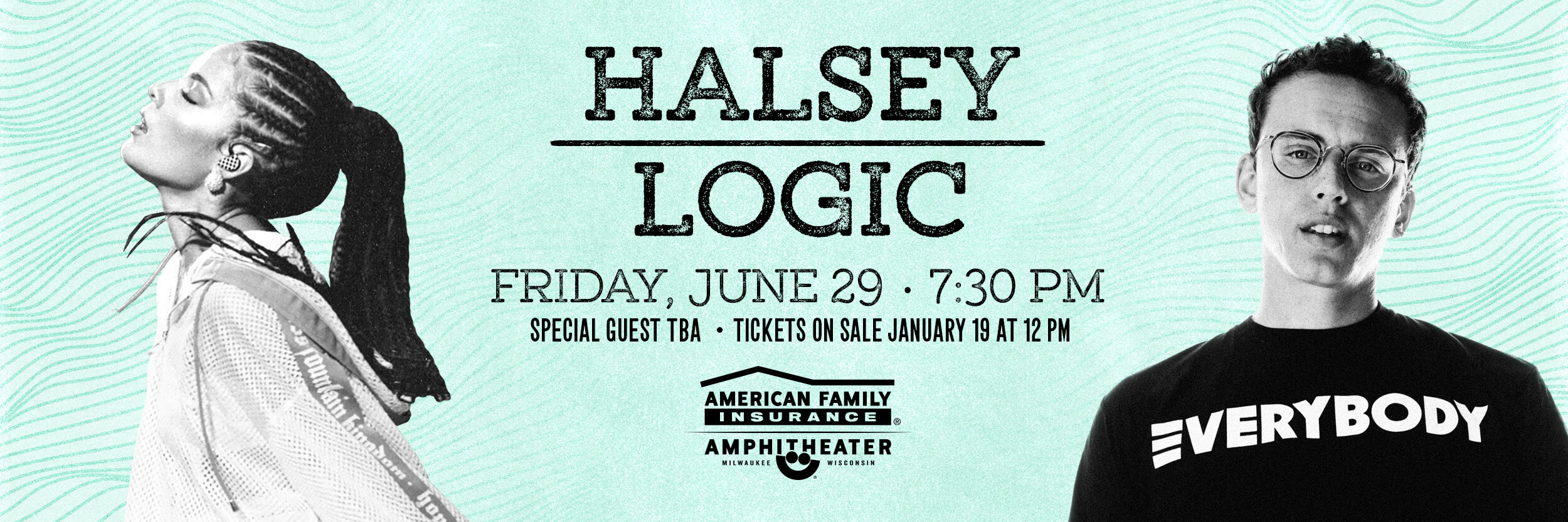 Win tickets to see Halsey & Logic at Summerfest!