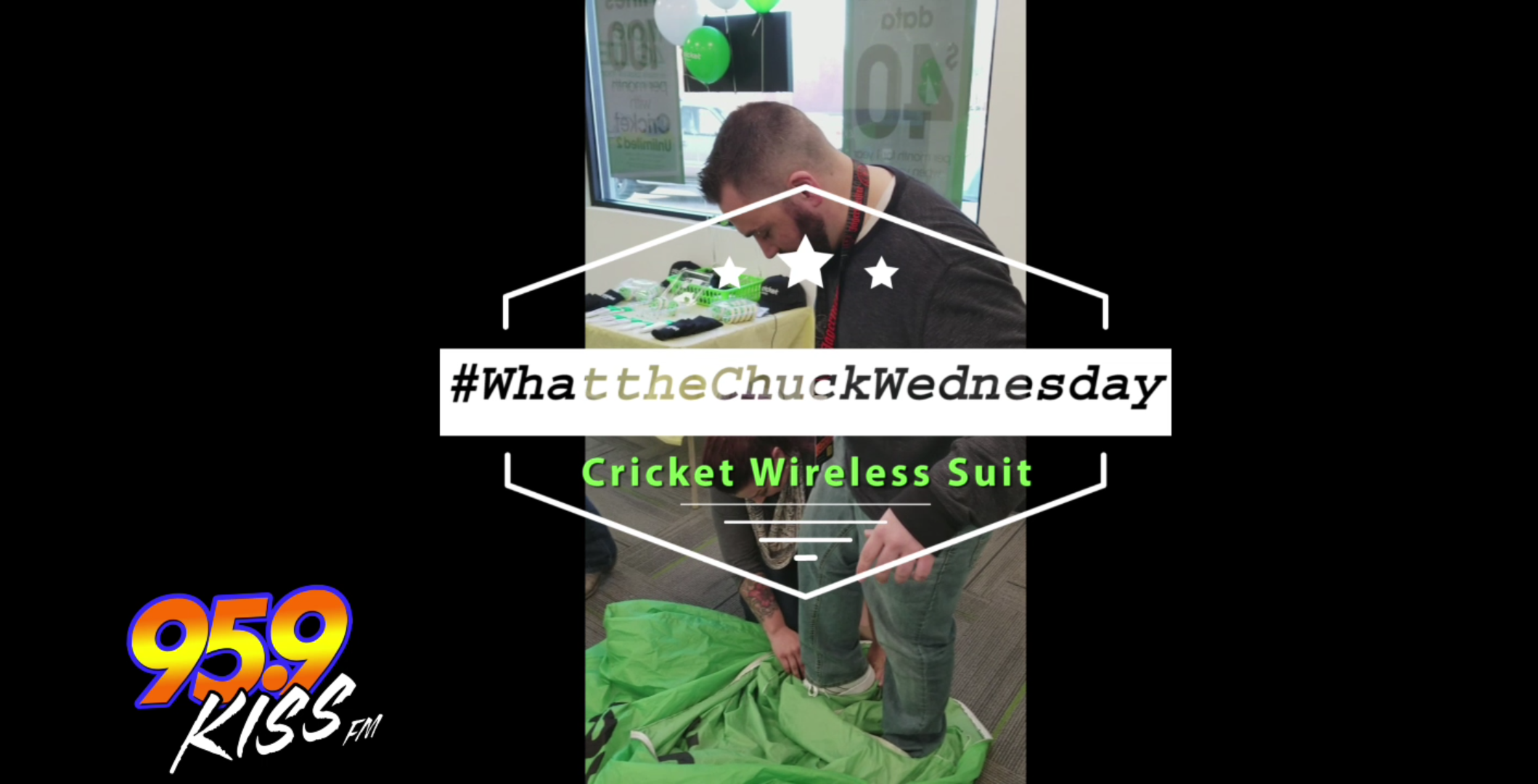 #WhattheChuckWednesday - Cricket Wireless Suit