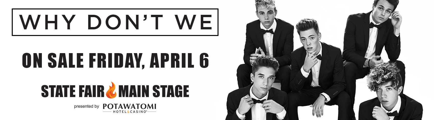 CONTEST: Why Don't We at the WI State Fair