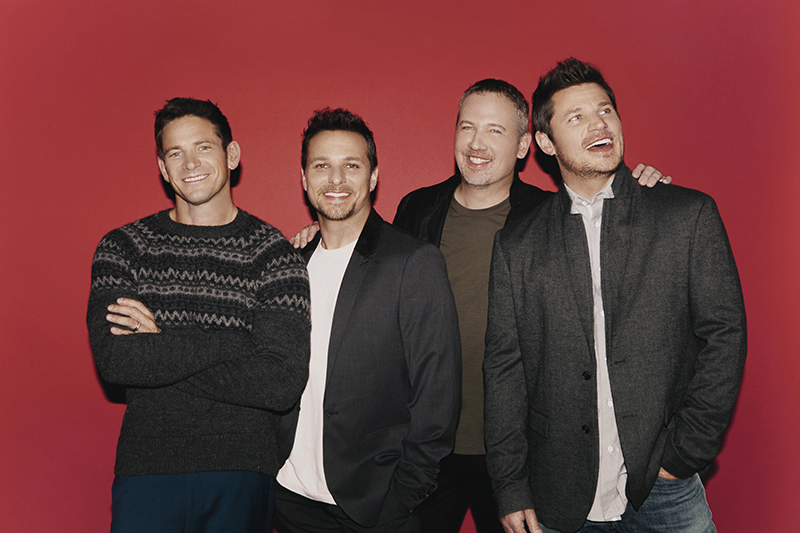CONTEST: Win 5th-1st Row 98 Degrees at Christmas Tickets