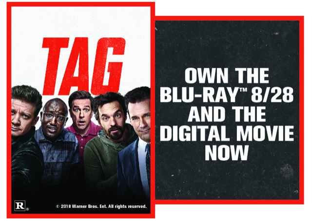 "CONTEST: Win digital copy of ""TAG"""