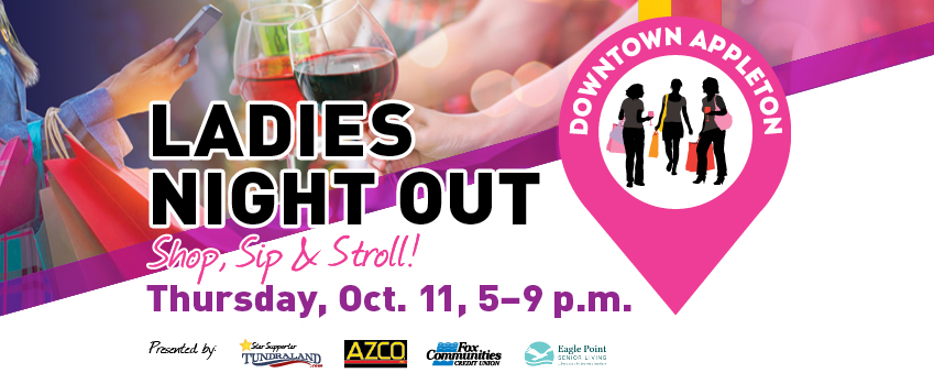 CONTEST: Ladies Night Out – Shop, Sip and Stroll