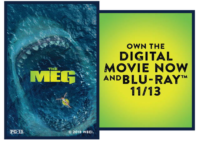 """CONTEST: Win a Digital Download of """"The Meg"""" starring Jason Statham!"""