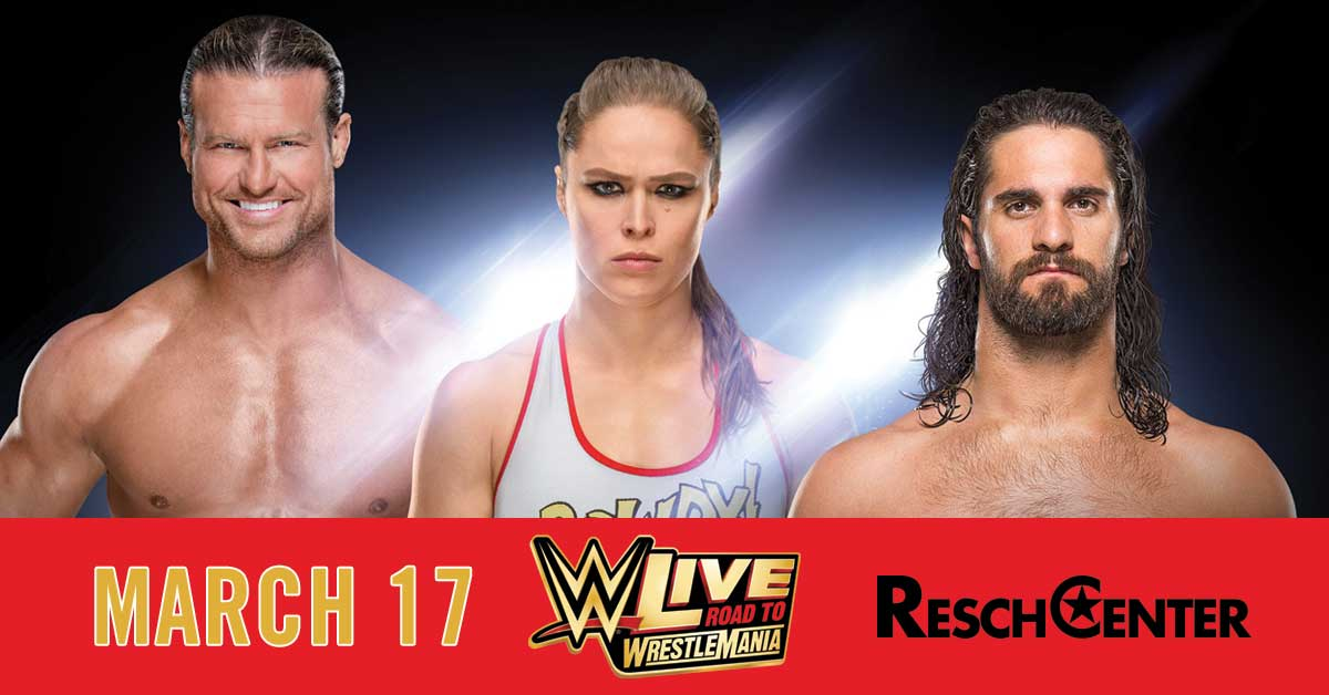 "CONTEST: WWE ""Live Road to Wrestlemania"""