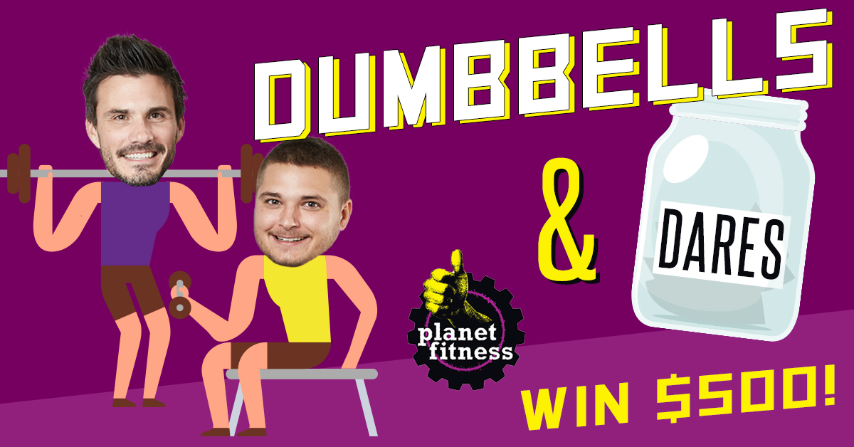 CONTEST: Jake & Tanner's Dumbbells and Dares